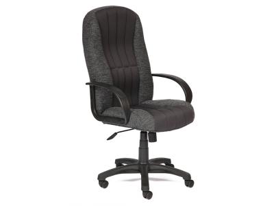 Кресло СH833 ткань + сетка Серая + Серая (207/12)
