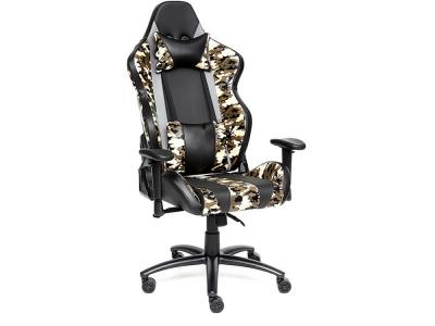 Кресло Ibrave кож.зам Чёрный + Хаки