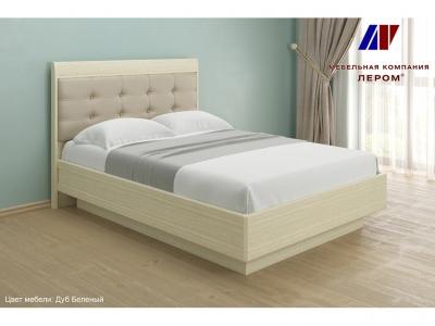 Кровать КР-1852 1400х2000 Дуб Беленый