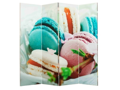 Ширма 1114-4 Macarons 4 панели