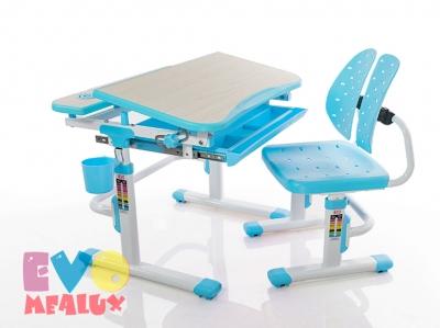 Парта и стульчик Mealux EVO-05 BL голубая