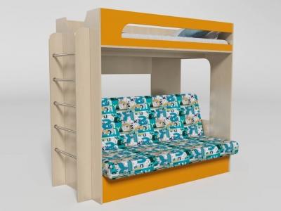 Кровать двухъярусная №9 манго