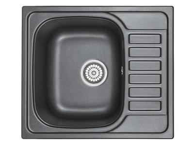 Кухонная мойка Granula 5801 Шварц