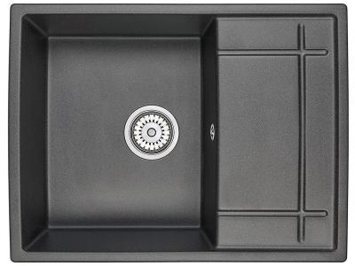 Кухонная мойка Granula 6501 Черный