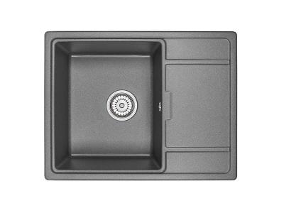 Кухонная мойка Granula 6503 Черный
