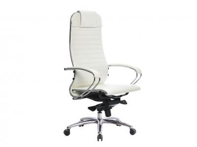 Компьютерное кресло Samurai K-1.03 белый лебедь