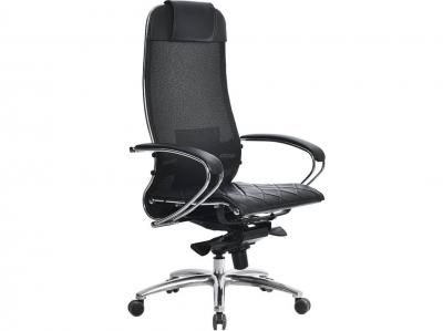 Компьютерное кресло Samurai S-1.03 черный плюс с ковриком СSm-10