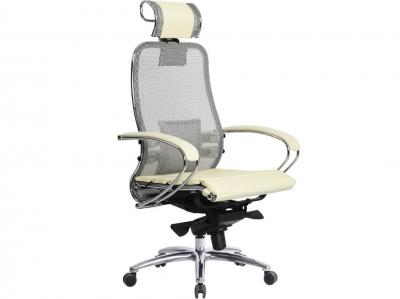 Компьютерное кресло Samurai S-2.03 бежевый с ковриком СSm-25