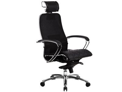 Компьютерное кресло Samurai S-2.03 черный плюс с ковриком СSm-10