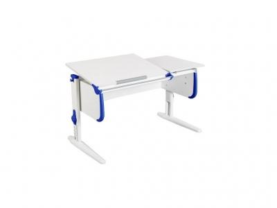 Парта СУТ-25 White синяя